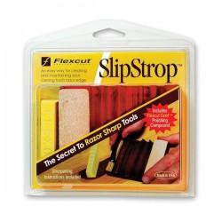 Obtahovací přípravek SlipStrop na řezbářská dláta