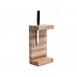 DM-0803 Blok na nože KAI ve tvaru C - dub