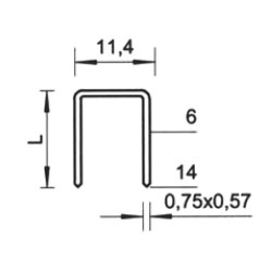 Spony BeA Rapid 53/06 (2500ks)
