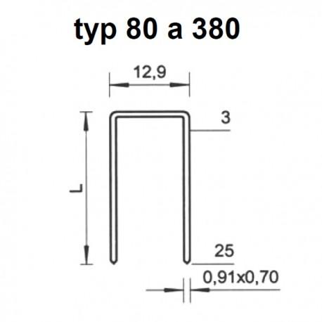 Spony BeA typ 80/10 (24 000ks)