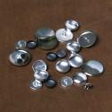 Knoflíky vel. 30 - horní díl (720ks) OSBORNE wsha30-5 alu