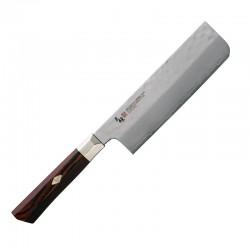 TZ2-4008DH SUPREME HAMMERED Nůž na zeleninu Nakiri 16,5cm MCUSTA ZANMAI 1