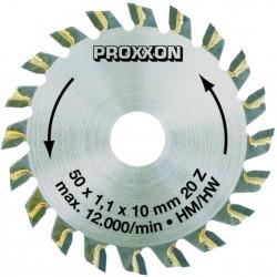 Pilový kotouč s 20 tvrdokovovými zuby pro Proxxon KS 230
