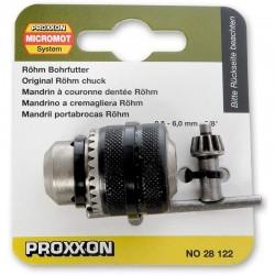 Vrtací sklíčidlo s ozubeným věncem pro Proxxon TBM 220
