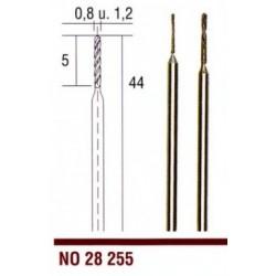 28255 Diamantové spirálové vrtáky Proxxon 0,8 a 1,2 mm, 2ks