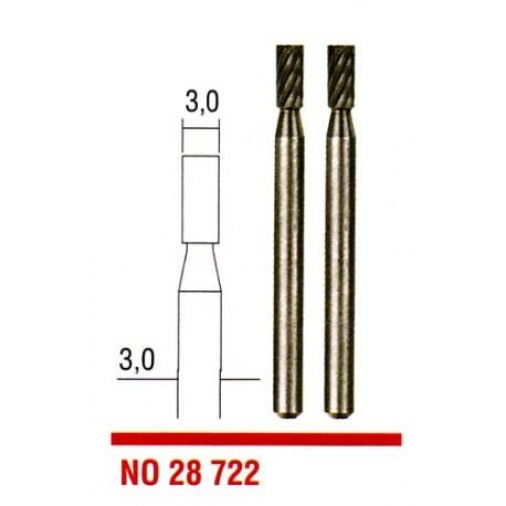 Stopkové frézy Proxxon z wolfram-vanadové oceli 2ks