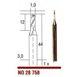 Tvrdokovová fréza Proxxon 1 mm