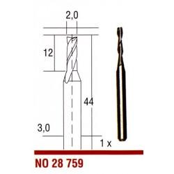 Tvrdokovová fréza Proxxon 2 mm