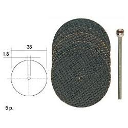 Korundové kotouče Proxxon s tkaninovou vazbou 20ks