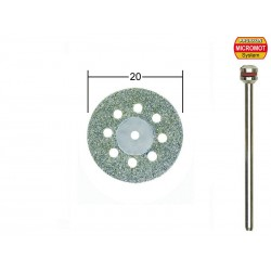 Diamantový dělicí kotouč Proxxon děrovaný 20 mm 1ks