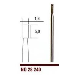 28240 Diamantový stopkový brousek Proxxon váleček 1,8 mm  1ks
