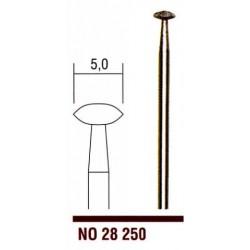 28250 Diamantový stopkový brousek Proxxon čočka 5 mm  1ks