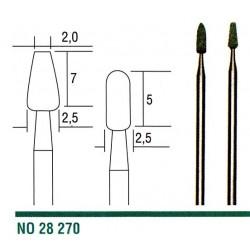 28270 Stopkové brousky Proxxon z karbidu křemíku 2 ks