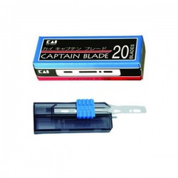 CAP-20BL sada 20 žiletek v rozdělovači KAI Captain Standard