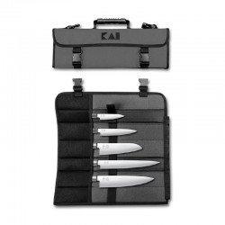 DM-0781EU67 Evropská sada 5 nožů WASABI BLACK - 6710P, 6715U, 6716S, 6720C, 6723L