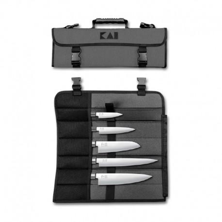 DM-0781 Evropská sada 5 nožů WASABI BLACK - 6710P, 6715U, 6716S, 6720C, 6723L