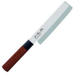 MGR-165N Nakiri jednostranně broušený nůž na zeleninu, délka ostří 16,5cm