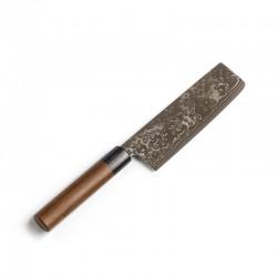 7461K Nakiri nůž 18 cm KYUSAKICHI Damascus ZDP189