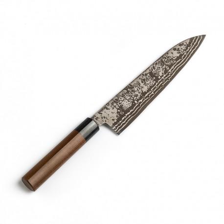 7431K Gyuto nůž šéfkuchařský 21 cm KYUSAKICHI Damascus ZDP189